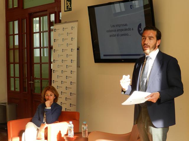 Carmen Adán, Fiscal Jefe de Vizcaya y Alejandro Bergaz, socio de Albacus: La prevención penal y la gestión de riesgos