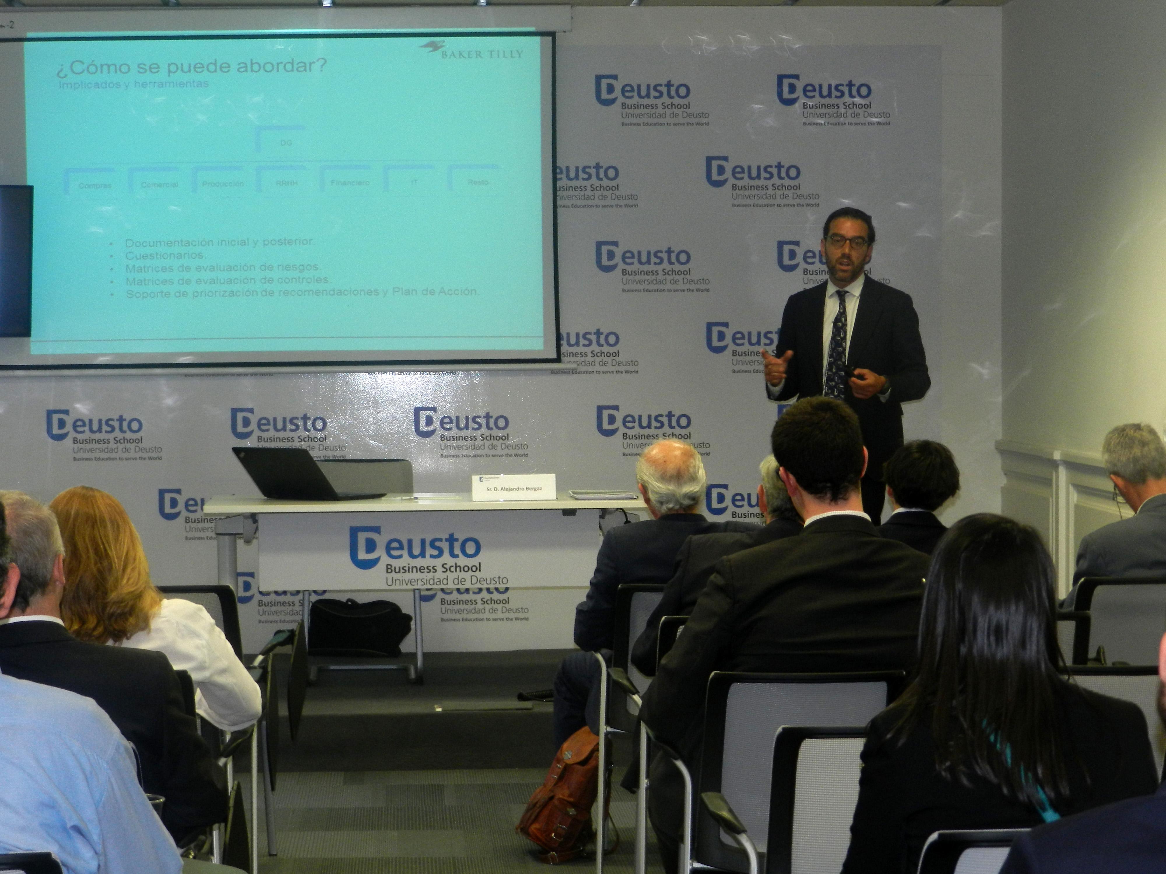 Link al video de evento Compliance por Alejandro Bergaz