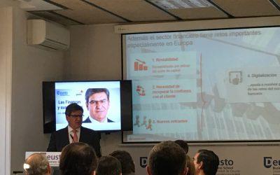 Las Finanzas y sus desafíos. Consejero Delegado del Banco Santander, José Antonio Álvarez.
